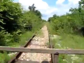 Встреча бамбук-поездов