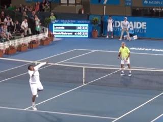 Акробатический теннис