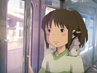 Персонажи Миядзаки в реальном мире