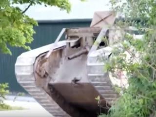 Точная копия танка 1917 года