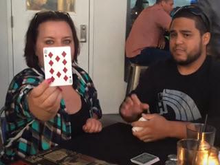 Трюк с картами