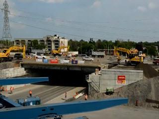 Демонтаж и установка моста за сутки