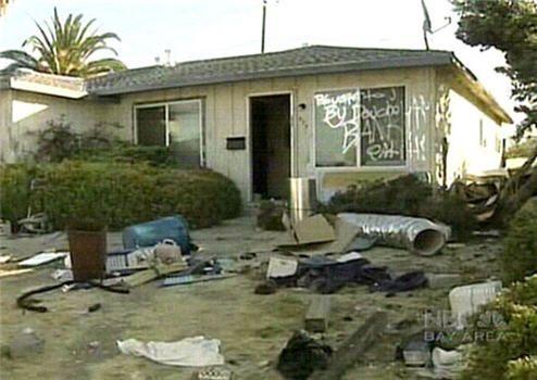 Американцы спасают дома (8 фото)