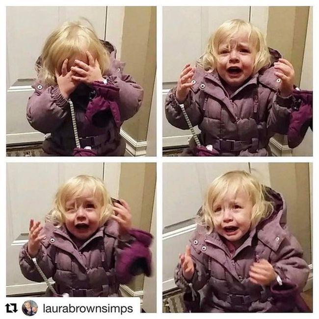 Чем могут быть вызваны слезы детей (9 фото)