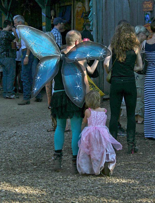 Вот на что готовы ради своих дочек отцы-одиночки! (15 фото)