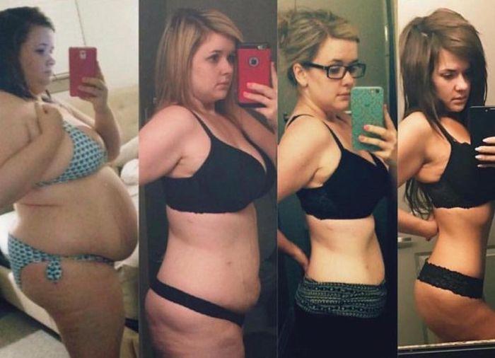 Люди, которые сумели привести себя в форму (29 фото)
