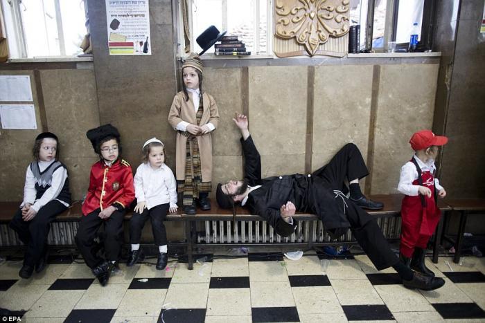 Празднование Пурим в Израиле (13 фото)