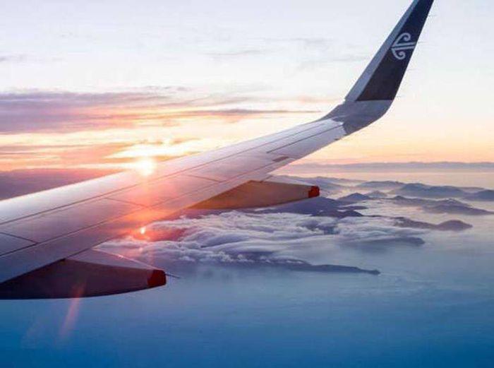 Потрясающий вид из окон самолетов (20 фото)