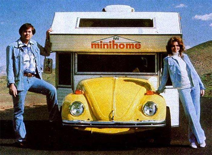 Super Bugger - редкий дом на колесах на базе Volkswagen Beetle (7 фото)