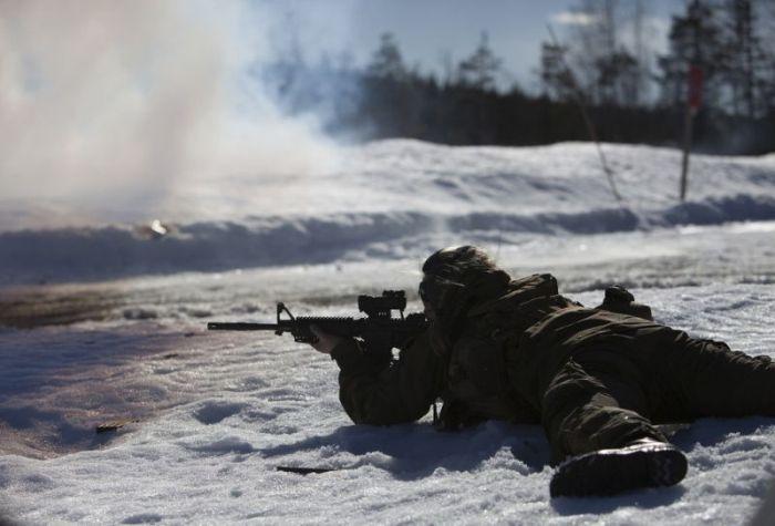 Тренировки первого женского спецназа Норвегии (11 фото)