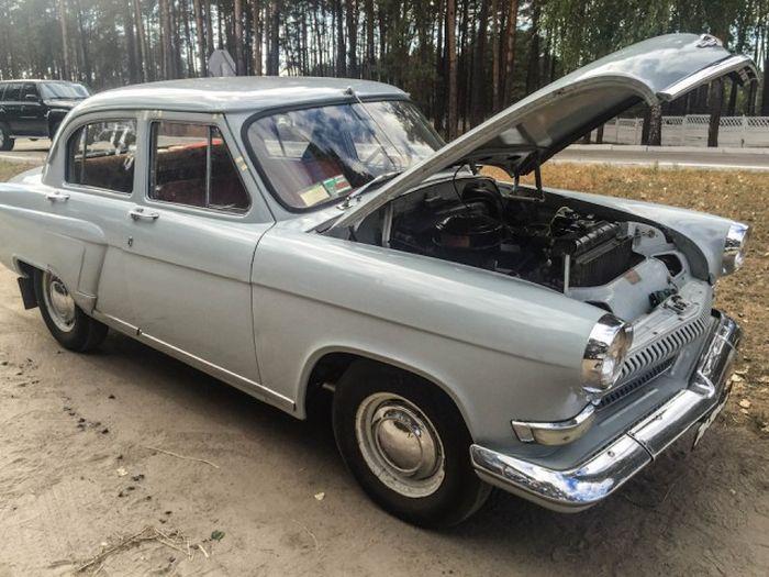 Прекрасно сохранившаяся ГАЗ-21 «Волга» 1962 года выпуска (20 фото)