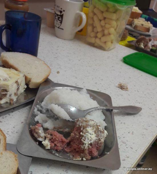 Чем кормят пациентов белорусских больниц (12 фото)