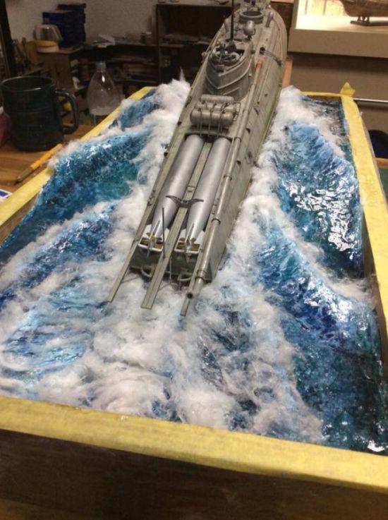 Диорама ракетного бронекатера (6 фото)