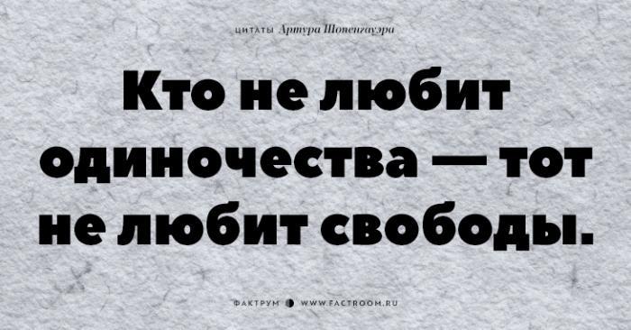 Незабываемые цитаты «философа пессимизма» Артура Шопенгауэра (23 фото)