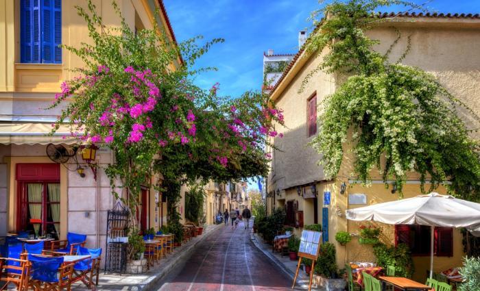 «Мифические» места в Греции (14 фото)