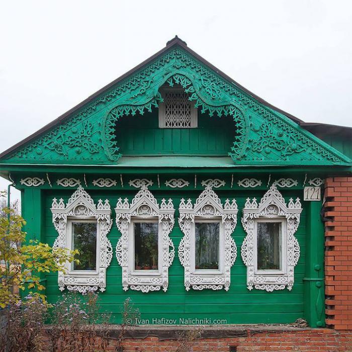 Виртуальный музей русских деревянных резных наличников (30 фото)