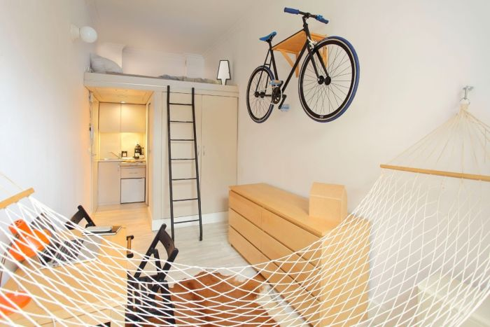 Идеальный дизайн малогабаритной квартиры-студии (11 фото)