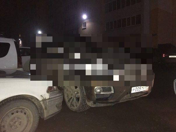 Автоместь с участием BMW X6 в Энгельсе (2 фото)