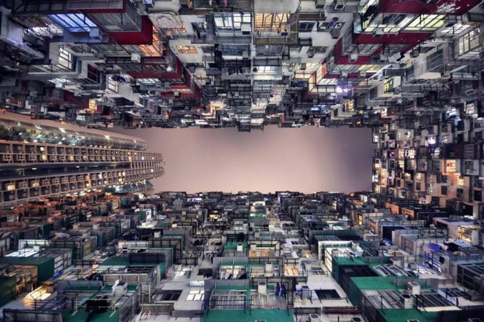 Гонконг – город с вертикальный горизонтом (21 фото)
