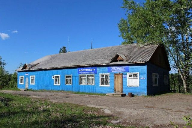 Деревянные аэропорты России (14 фото)