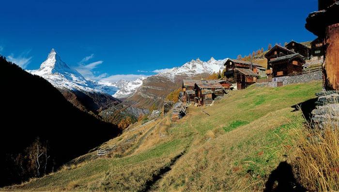 Самые красивые места Швейцарии: водопады, горы, парки (7 фото)