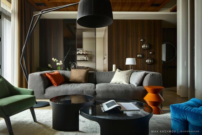 Интерьер квартиры в Москве от Max Kasymov Interior/Design (30 фото)