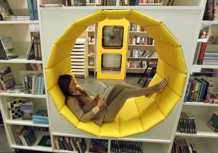 Библиотека, которая способна удивить (8 фото)