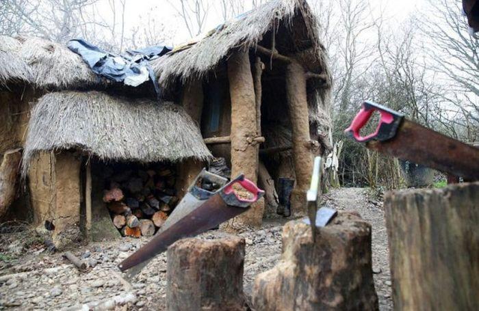 Бездомный уже обрел жилище мечты, как сказка закончилась (9 фото)
