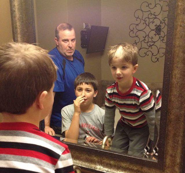 Дети экспериментируют с прическами (24 фото)