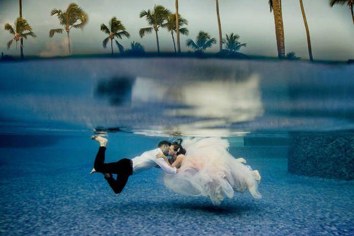 Такие свадебные фотографии могут быть далеко не у всех (34 фото)