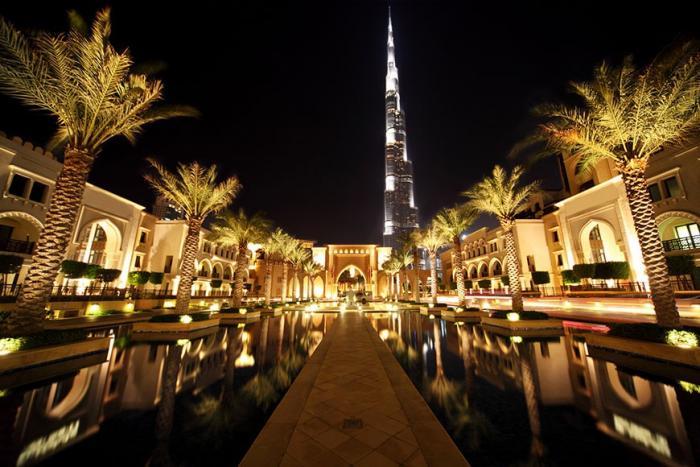 Зачем ехать в отпуск в Дубай (5 фото)