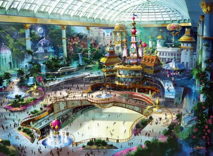 Самые интересные тематические парки в мире (11 фото)