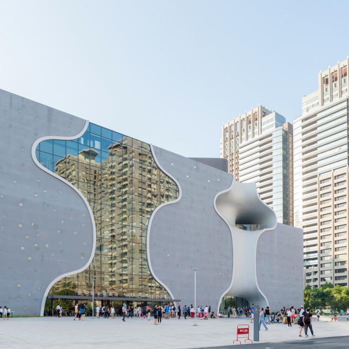 Органические формы в архитектуре оперного театра на Тайване (41 фото)