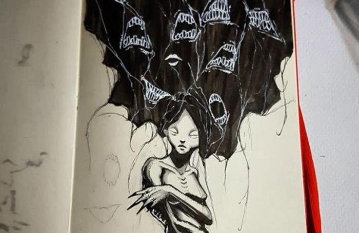 Психические расстройства в серии иллюстраций (10 фото)