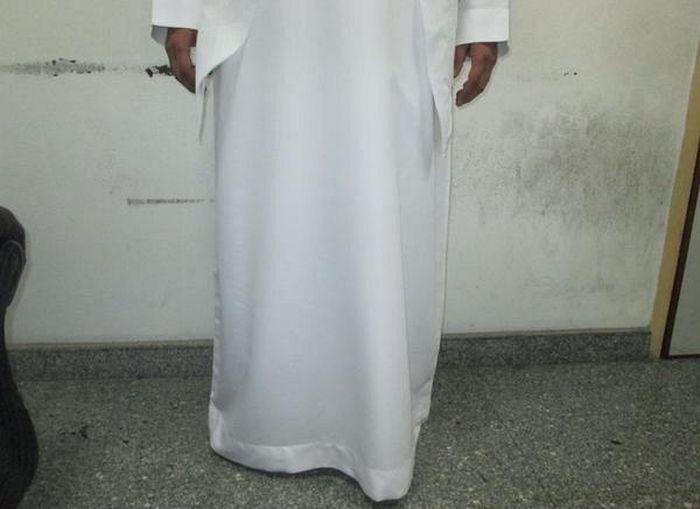 В Саудовской Аравии задержан контрабандист (4 фото)