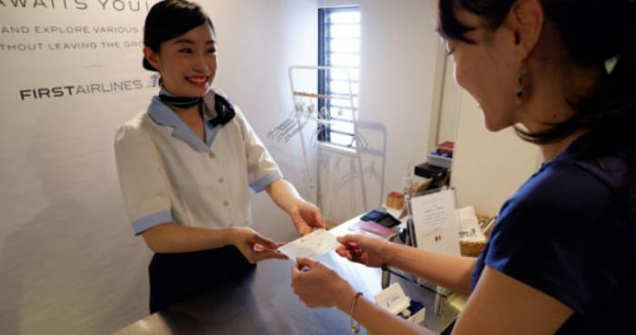В Токио открыли новый «воздушный» ресторан (11 фото)